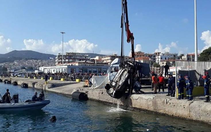 Μοιραία βουτιά για οδηγό αυτοκινήτου στο λιμάνι της Μυτιλήνης