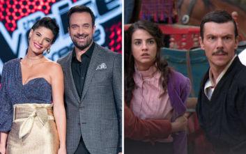 The Voice και Κόκκινο Ποτάμι νικητές και οι δύο στη «μάχη» της τηλεθέασης