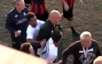 Θερμό επεισόδιο σε ματς στην Κρήτη: Δύο προπονητές παραλίγο να έρθουν στα χέρια
