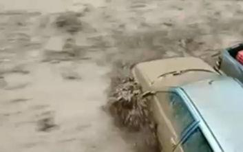 Κακοκαιρία: Σε κατάσταση έκτακτης ανάγκης η Θάσος, κινδύνευσαν άνθρωποι στη Χαλκιδική