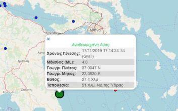 Σεισμός στην Ύδρα