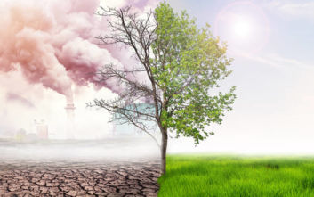 Σταθερές οι εκπομπές αερίων που προκαλούν το φαινόμενο του θερμοκηπίου