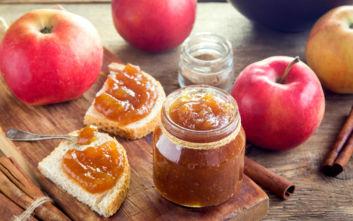 Σπιτική μαρµελάδα μήλο