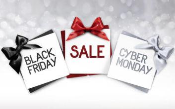 Την Παρασκευή η Black Friday - Στις 2 Δεκεμβρίου η Cyber Monday
