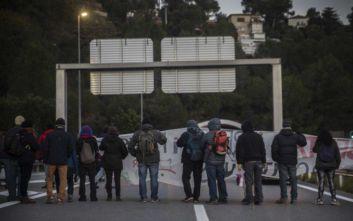 Γαλλο-ισπανική επιχείρηση για να διαλυθεί διαδήλωση για την Καταλονία