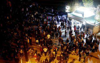 Διαβατά: Πολίτες κινήθηκαν προς το κέντρο φιλοξενίας - Εμποδίστηκαν από αστυνομικές δυνάμεις