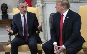 Τραμπ: Συνάντηση με τον Γ.Γ. του ΝΑΤΟ την Πέμπτη