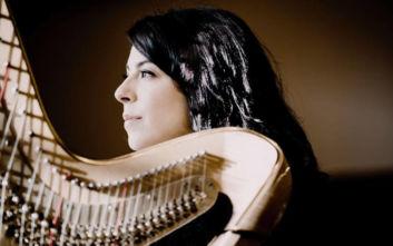 Ρεσιτάλ άρπας της Anneleen Lenaerts στο Μέγαρο Μουσικής Αθηνών