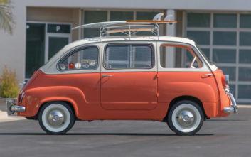 Το Fiat 600 Multipla στην έκθεση «Cars: Accelerating the Modern World»
