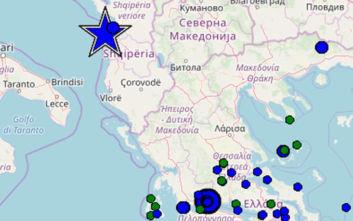 Νέος δυνατός σεισμός στην Αλβανία
