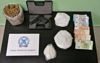 Διπλό χτύπημα της αστυνομίας σε δίκτυο εμπορίας ναρκωτικών