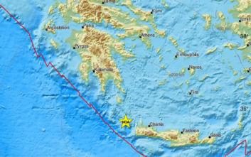 Ισχυρός σεισμός ανάμεσα σε Κρήτη και Κύθηρα: «Ήταν δόνηση βάθους και δεν έχει καμία σχέση με εκείνη της Αλβανίας»