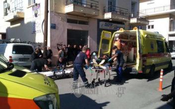 Τροχαίο στο κέντρο των Χανίων με δύο τραυματίες