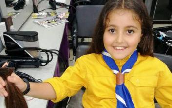 Μυτιλήνη: Μαθήματα αγάπης και ήθους από μια 8χρονη που μπορεί να αλλάξει τον κόσμο