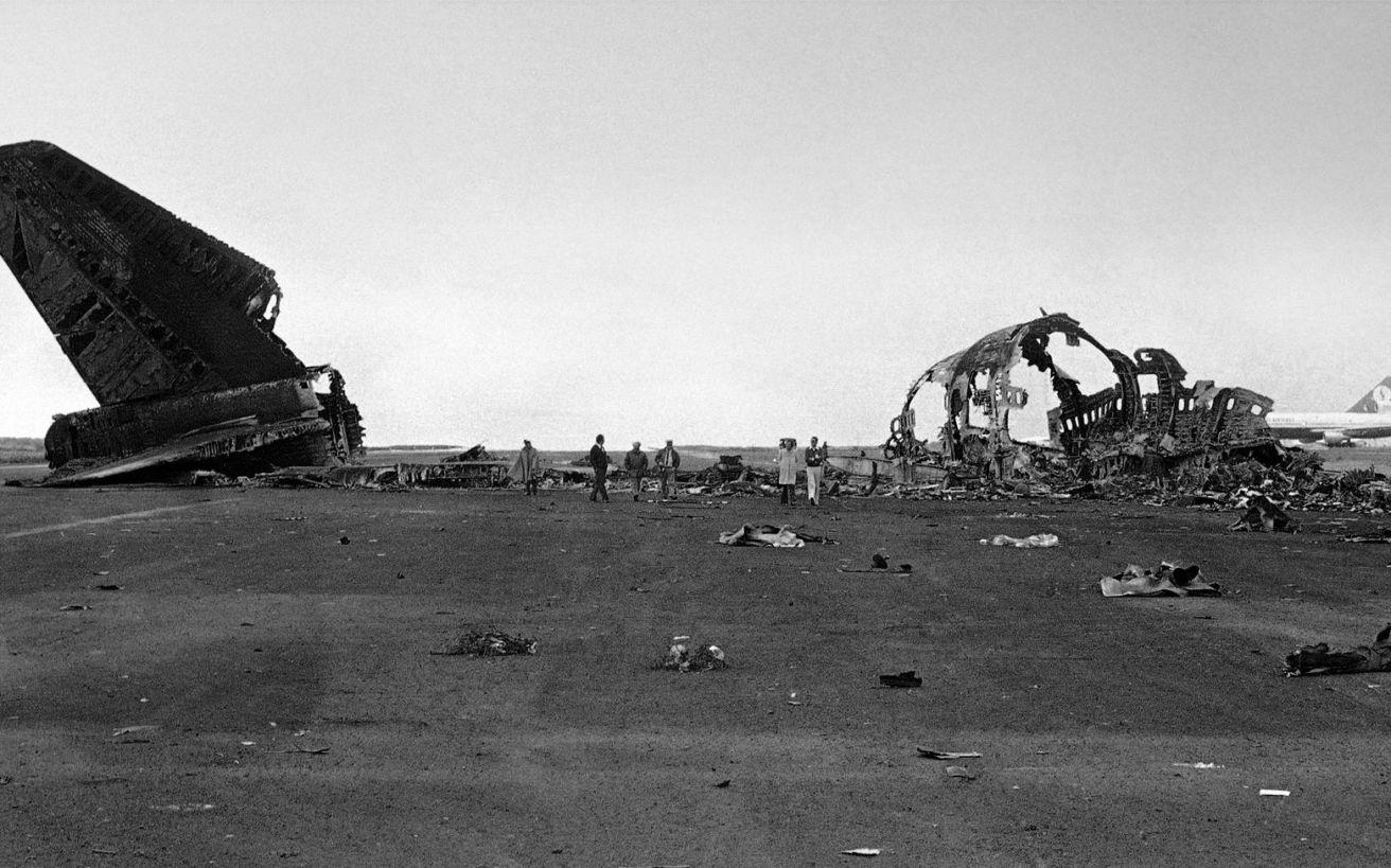 Το πιο πολύνεκρο αεροπορικό δυστύχημα στην ιστορία συνέβη στο έδαφος
