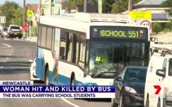 Λεωφορείο με μαθητές σκότωσε 30χρονη στην Αυστραλία