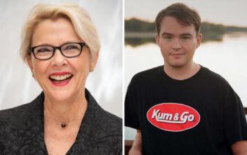 Η Ανέτ Μπένινγκ είναι περήφανη για τον τρανσέξουαλ γιο της