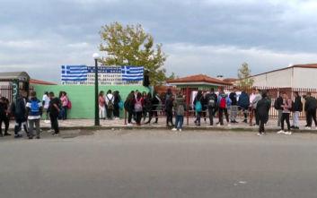 Γιαννιτσά: Κατάληψη σε σχολείο από μαθητές, «απελάστε τους λαθρομετανάστες»