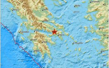 Σεισμός τώρα αισθητός στην Αθήνα