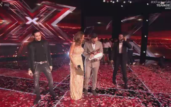 X-Factor: Ο Γιάννης Γρόσης είναι ο μεγάλος νικητής του διαγωνισμού