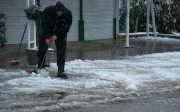 Τσουχτερό κρύο στη Βόρεια Ελλάδα, σε ποια περιοχή το θερμόμετρο έδειξε -10 βαθμούς