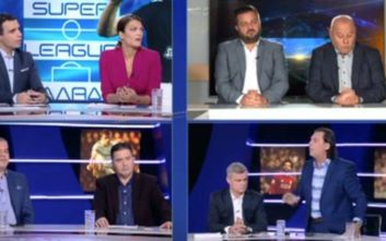 Ανέβηκαν οι τόνοι στο Total Football του Open - Αποχώρησε ο Τάσος Μητρόπουλος