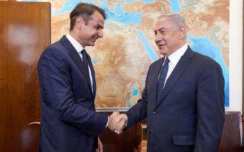 Μητσοτάκης: Τηλεφωνική συνομιλία με Νετανιάχου για τον East Med