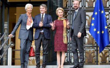 Ανέλαβαν οι νέοι ηγέτες της Ευρωπαϊκής Ένωσης