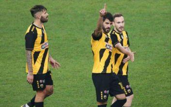 ΑΕΚ-Πανιώνιος 5-0: Εύκολη νίκη υπό το βλέμμα Καρέρα