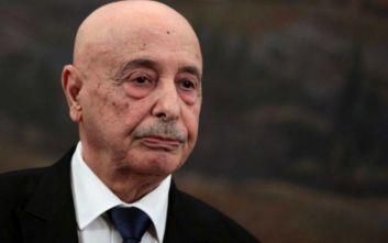 Πρόεδρος της Λιβυκής βουλής: «Να αποσυρθεί η νομιμότητα της κυβέρνησης Σάρατζ»