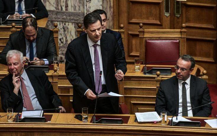 Σκυλακάκης: Τα επιπλέον 32 δισ. ευρώ που θα λάβουμε αποτελούν μοναδική ευκαιρία για να αλλάξει η Ελλάδα