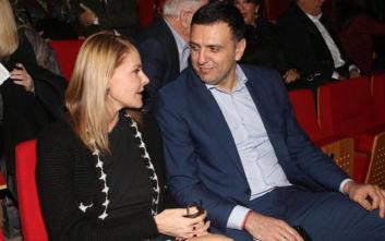 Βασίλης Κικίλιας και Τζένη Μπαλατσινού περιμένουν το πρώτο τους παιδί