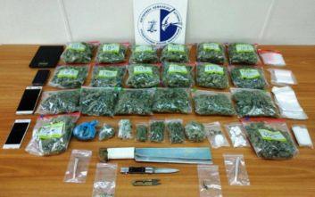 Συνελήφθησαν δύο άτομα στη Νίκαια για διακίνηση και εμπορία ναρκωτικών