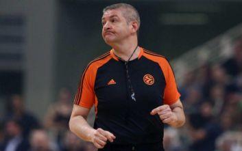 Euroleague: Με Λαμόνικα η διαιτητική τριάδα του Παναθηναϊκός-Ολυμπιακός