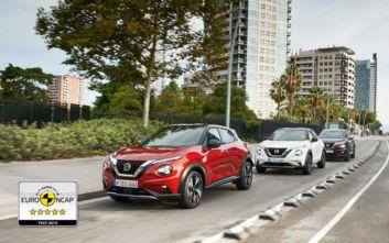 Πέντε αστέρια στο Nissan Juke από το Euro NCAP