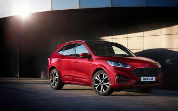 Ασφάλεια 5 αστέρων για το νέο Ford Kuga