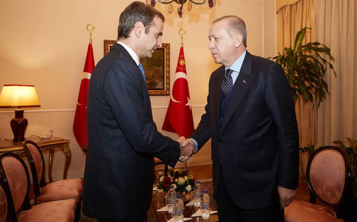 Το παρασκήνιο της τηλεφωνικής επικοινωνίας Μητσοτάκη - Ερντογάν