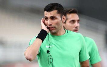 Super League 1: Ο Φωτιάς ορίστηκε στο ΠΑΟΚ - Ξάνθη, ο Καραντώνης στο Παναιτωλικός-Ολυμπιακός