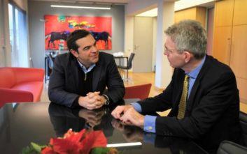 Τσίπρας - Πάιτ συζήτησαν για τις τουρκικές προκλήσεις στην Ανατολική Μεσόγειο