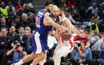 Euroleague: Λύγισε στο Βελιγράδι από τον Ερυθρό Αστέρα ο Ολυμπιακός