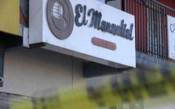 Άγρια δολοφονία τεσσάρων σερβιτόρων σε μπαρ στο Μεξικό