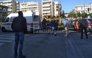 Λαμία: Τροχαίο με δύο τραυματίες, εγκλωβίστηκε οδηγός