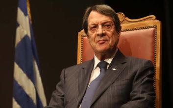 «Δεν θα αποδεχθώ τακτικές εκβιασμού» διαμηνύει ο Νίκος Αναστασιάδης