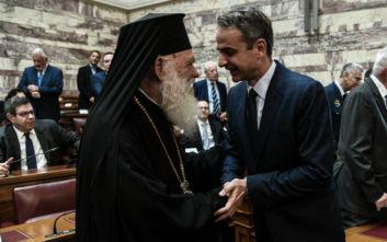 Από μηδενική βάση ξεκινά ο διάλογος Μητσοτάκη - Ιερώνυμου για την αξιοποίηση της εκκλησιαστικής περιουσίας