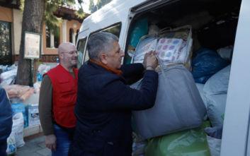 Ανθρωπιστική βοήθεια για τους πληγέντες της Αλβανίας από την Περιφέρεια Αττικής και τον Ερυθρό Σταυρό