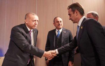 ΣΥΡΙΖΑ: Η συνάντηση Μητσοτάκη-Ερντογάν επιβεβαίωσε τη σοβαρή ένταση στις ελληνοτουρκικέςσχέσεις