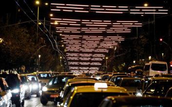 Κίνηση τώρα: Κυκλοφοριακό κομφούζιο στο κέντρο της Αθήνας