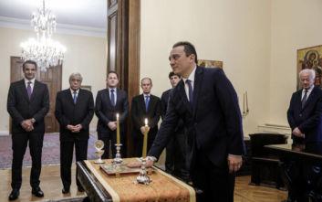 Ορκίστηκε ο Κώστας Βλάσης νέος υφυπουργός Εξωτερικών