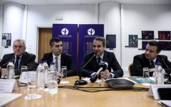 Μητσοτάκης: Πολιτική βούληση της κυβέρνησης να συνδεθεί η έρευνα με την καινοτομία και την οικονομία