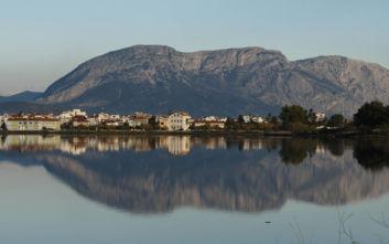 Υπέροχες εικόνες στη λιμνοθάλασσα του Μεσολογγίου